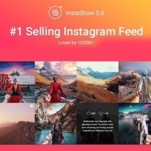 Sale! Buy Discount Instagram Feed – WordPress Gallery for Instagram - Cheap Discount Price