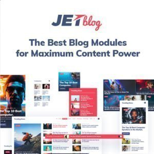 Sale! Buy Discount JetBlog – Blogging Package for Elementor Page Builder - Cheap Discount Price
