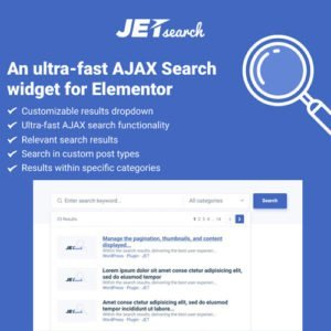 Sale! Buy Discount JetSearch For Elementor - Cheap Discount Price