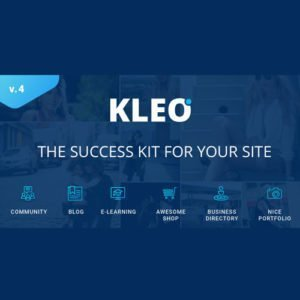Sale! Buy Discount KLEO – Pro Community Focused – Multi-Purpose BuddyPress Theme - Cheap Discount Price
