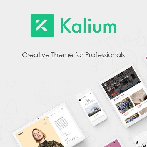 Sale! Buy Discount Kalium – Creative Theme for Professionals - Cheap Discount Price