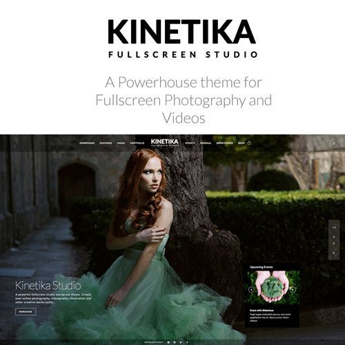 Sale! Buy Discount Kinetika | Photography Theme for WordPress - Cheap Discount Price