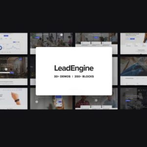 Sale! Buy Discount LeadEngine – Multi-Purpose WordPress Theme with Page Builder - Cheap Discount Price