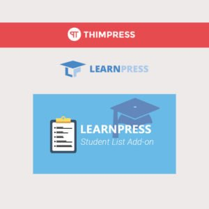 Sale! Buy Discount LearnPress – Students List - Cheap Discount Price