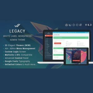 Sale! Buy Discount Legacy – White label WordPress Admin Theme - Cheap Discount Price