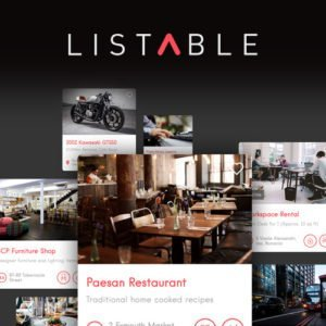 Sale! Buy Discount Listable – A Friendly Directory WordPress Theme - Cheap Discount Price