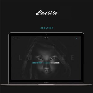 Sale! Buy Discount Lucille – Music WordPress Theme - Cheap Discount Price