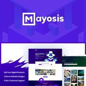 Sale! Buy Discount Mayosis – Digital Marketplace WordPress Theme - Cheap Discount Price