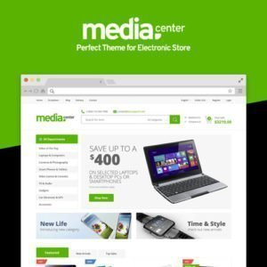 Sale! Buy Discount MediaCenter – Electronics Store WooCommerce Theme - Cheap Discount Price
