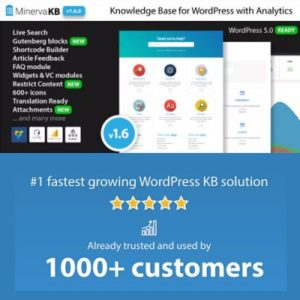 Sale! Buy Discount MinervaKB Knowledge Base for WordPress with Analytics - Cheap Discount Price