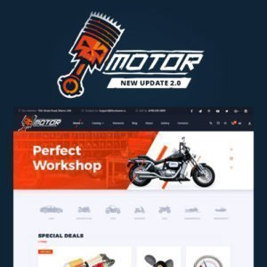 Sale! Buy Discount Motor – Vehicles Parts – Equipments and Accessories WooCommerce Store - Cheap Discount Price