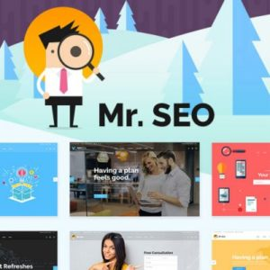 Sale! Buy Discount Mr. SEO – SEO, Marketing Agency and Social Media Theme - Cheap Discount Price