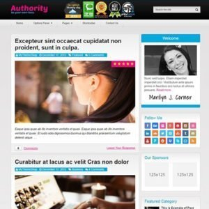 Sale! Buy Discount MyThemeShop Authority WordPress Theme - Cheap Discount Price