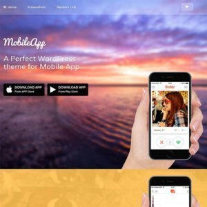 Sale! Buy Discount MyThemeShop Mobileapp WordPress Theme - Cheap Discount Price