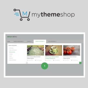 Sale! Buy Discount MyThemeShop My WP Mega Menu - Cheap Discount Price