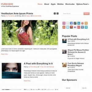 Sale! Buy Discount MyThemeShop Pureview WordPress Theme - Cheap Discount Price