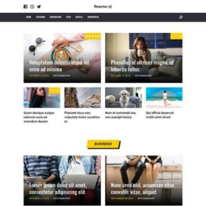 Sale! Buy Discount MyThemeShop Reactor WordPress Theme - Cheap Discount Price