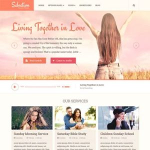 Sale! Buy Discount MyThemeShop Salvation WordPress Theme - Cheap Discount Price