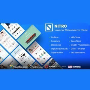 Sale! Buy Discount Nitro – Universal WooCommerce Theme from ecommerce experts - Cheap Discount Price