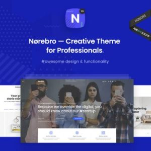 Sale! Buy Discount Norebro – Creative Portfolio Theme for Multipurpose Usage - Cheap Discount Price