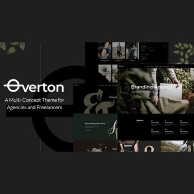 Sale! Buy Discount Overton – Creative Theme for Agencies and Freelancers - Cheap Discount Price