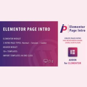 Sale! Buy Discount Page Intro for Elementor WordPress Plugin - Cheap Discount Price