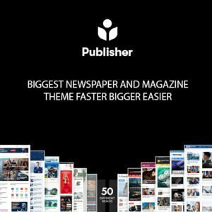 Sale! Buy Discount Publisher – Newspaper Magazine AMP - Cheap Discount Price