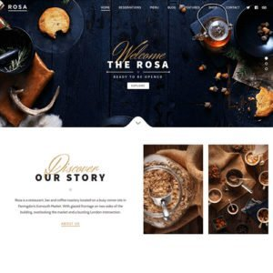 Sale! Buy Discount ROSA – An Exquisite Restaurant WordPress Theme - Cheap Discount Price