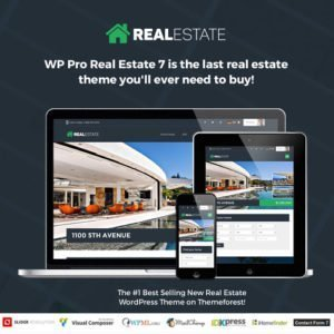 Sale! Buy Discount Real Estate 7 – Real Estate WordPress Theme - Cheap Discount Price