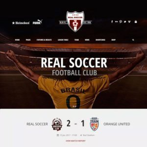 Sale! Buy Discount Real Soccer – Sport Clubs Responsive WP Theme - Cheap Discount Price