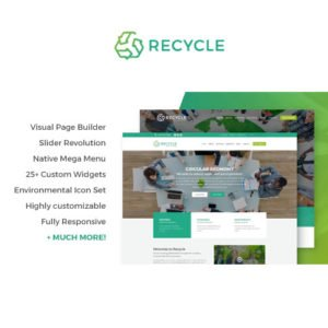 Sale! Buy Discount Recycle – Environmental & Green Business WordPress Theme - Cheap Discount Price