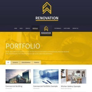 Sale! Buy Discount Renovation – Construction Company Theme - Cheap Discount Price
