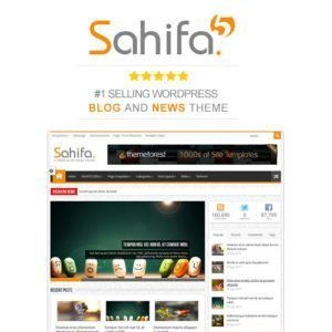 Sale! Buy Discount Sahifa – Responsive WordPress News / Magazine / Blog Theme - Cheap Discount Price