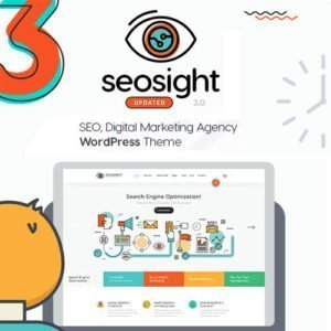 Sale! Buy Discount Seosight – SEO, Digital Marketing Agency WP Theme with Shop - Cheap Discount Price