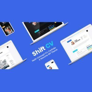 Sale! Buy Discount ShiftCV – Blog  Resume  Portfolio  WordPress - Cheap Discount Price