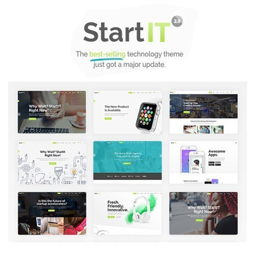 Sale! Buy Discount Startit – A Fresh Startup Business Theme - Cheap Discount Price