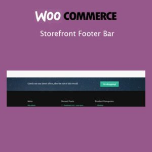 Sale! Buy Discount Storefront Footer Bar - Cheap Discount Price