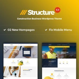 Sale! Buy Discount Structure – Construction WordPress Theme - Cheap Discount Price
