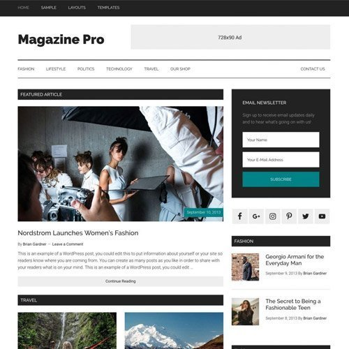 Sale! Buy Discount StudioPress Magazine Pro Genesis WordPress Theme - Cheap Discount Price