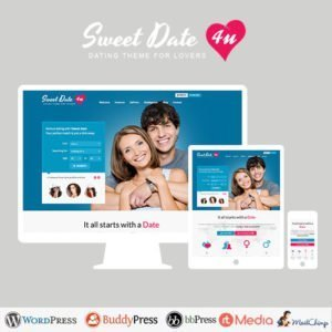 Sale! Buy Discount Sweet Date – More than a WordPress Dating Theme - Cheap Discount Price