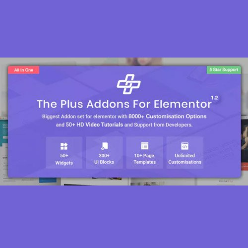 Sale! Buy Discount The Plus – Addon for Elementor Page Builder WordPress Plugin - Cheap Discount Price