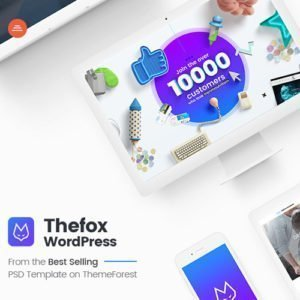 Sale! Buy Discount TheFox | Responsive Multi-Purpose WordPress Theme - Cheap Discount Price