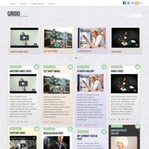 Sale! Buy Discount Themify Grido WordPress Theme - Cheap Discount Price