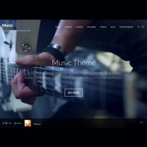 Sale! Buy Discount Themify Music WordPress Theme - Cheap Discount Price