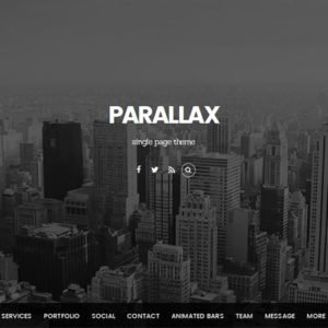 Sale! Buy Discount Themify Parallax WordPress Theme - Cheap Discount Price