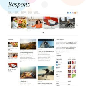 Sale! Buy Discount Themify Responz WordPress Theme - Cheap Discount Price
