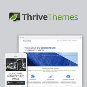 Sale! Buy Discount Thrive Themes Focusblog WordPress Theme - Cheap Discount Price