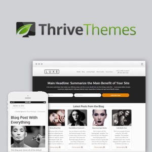 Sale! Buy Discount Thrive Themes Luxe WordPress Theme - Cheap Discount Price
