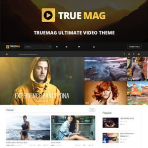 Sale! Buy Discount True Mag – WordPress Theme for Video and Magazine - Cheap Discount Price