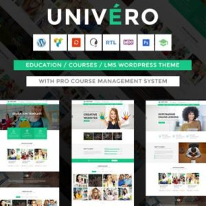 Sale! Buy Discount Univero | Education LMS & Courses WordPress Theme - Cheap Discount Price